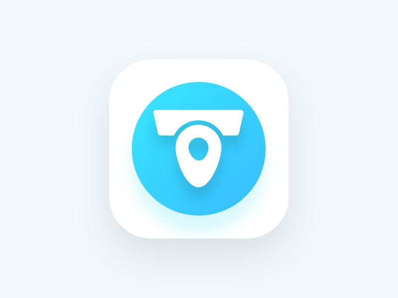 Toi Spot App Logo ios finder toilet icon app logo
