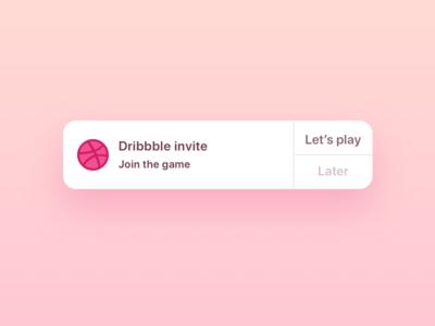 2 Dribbble Invitations Giveaway 🎉 🎟