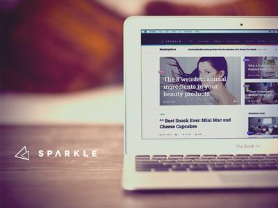 Sparkle WordPress theme
