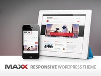 Maxx - Responsive Creative Wordpress Theme maxx responsive creative web design coporate