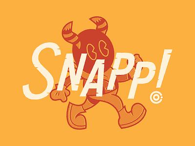 Snapp! Co. missouri ozarks character typography illustration logo