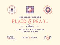 Plaid & Pearl