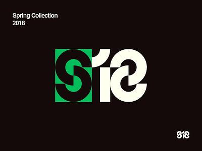 Spring Collection 2018 type logo 2018 spring
