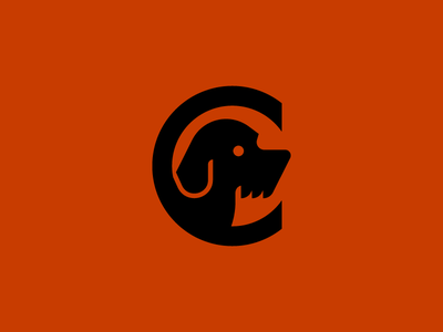 Commute Soft Goods dog illustration identity brand logo