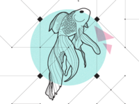 Geo Fish Illustration