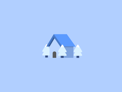 Cozy Cottage vector design minimal
