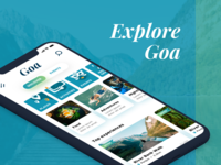 Home screen of Goa App