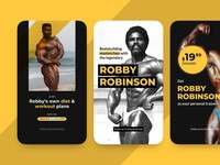 Instagram Promotional stories for Robby Robinson