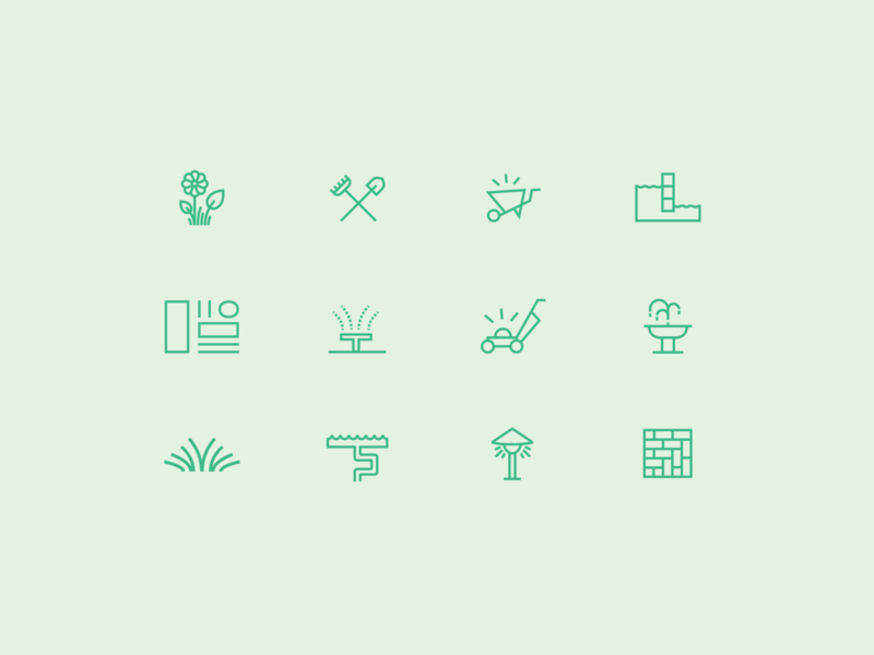 Valley West Landscapes Icons