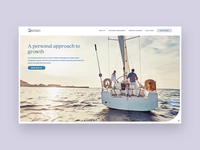 Etesian Wealth Advisors Website wealth management finance uidesign ux iconography ui craftcms user interface design website design iris creative website