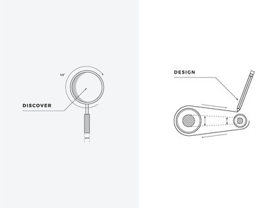 ARG Icon Exploration technical drawing iris creative branding minimalism icons