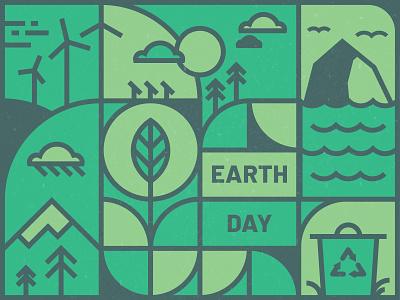 Earth Day renewable energy green environment  green design illustration iris creative cloud