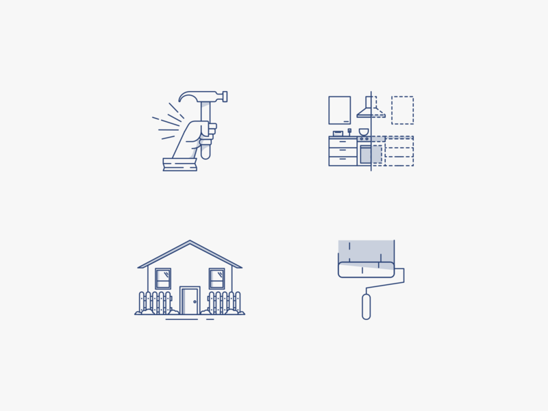 Rector Construction Icons