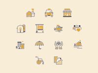 Wyatt Insurance Icons