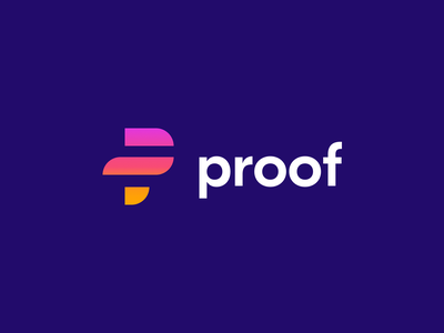 proof logo solo logo design gradient design branding