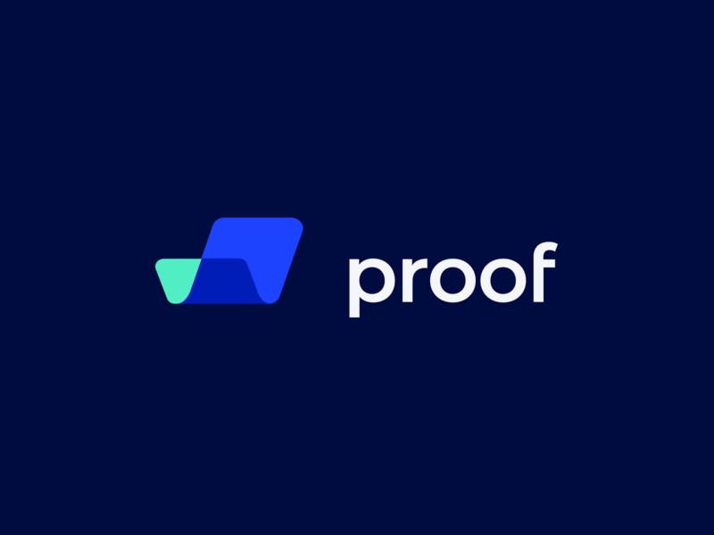 proof logo exploration 2 identity design blue aqua logo design design branding