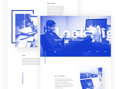 Your career / Website