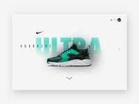 Nike Air Huarache Ultra / Presentation page