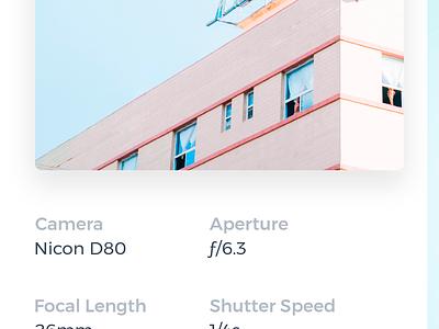 Pixel ux ui photo mobile minimal login flat design clean application app android