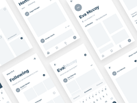 Pixel app wireframe