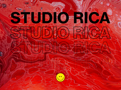 STUDIO RICA™ design web animation modern typography branding agency website webdesign typeface web design