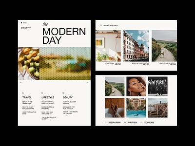 WEBFLOW BLOG TEMPLATE agency website web design modern branding minimal webdesign typography typeface web design