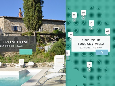 Map Search map pins realestate home search dot green light green user interface ui webdesign