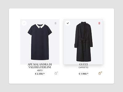 Fashionis Ecommerce - Wishlist wishlist active rollover italy fashion favorite website startup ecommerce