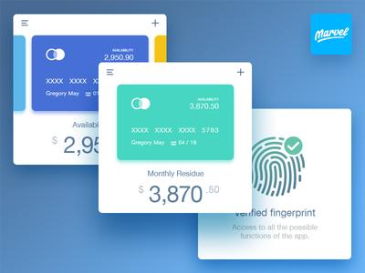 Marvel Banking UI Kit