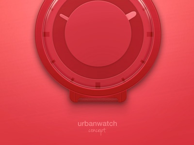 Urbanwatch Concept watch clock concept time photoshop urbanears