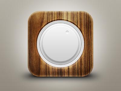 Wood Volume iOs Icon