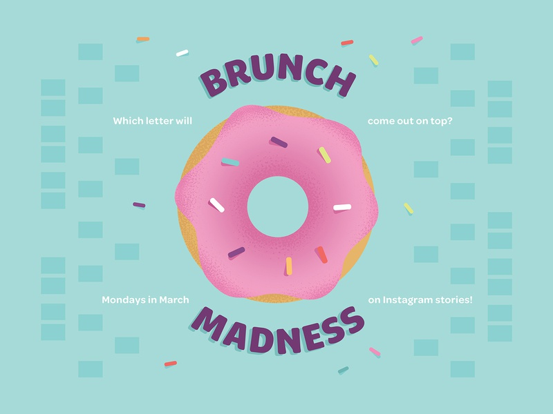 Brunch Madness Bracket