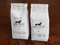 Indie Coffee Roasters Packaging Design