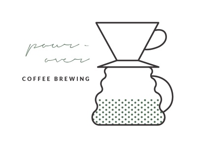 Pour-Over Brew Guide Illustration