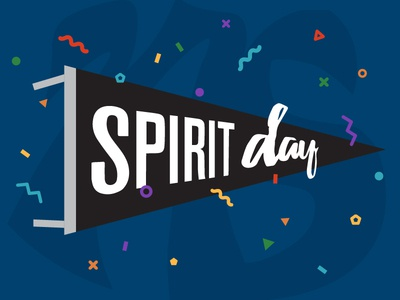 Student Ministry School Spirit Day Graphic