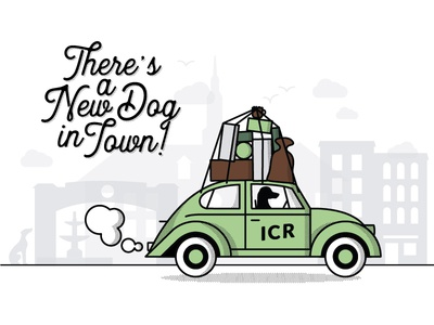 Indie Coffee Roasters New Dog in Town Campaign