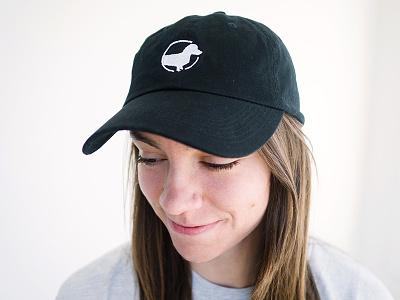 Indie Coffee Roasters Dad Hats coffee hat design ball cap cap weiner dog dachshund dad hat hat