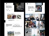 Indie Coffee Roasters Website Design
