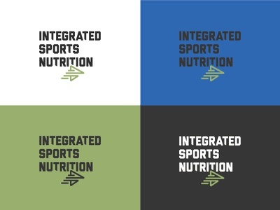 Integrated Sports Nutrition protein nutrition motion active play logo branding sports
