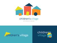 Children's Village Logo System