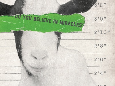 The Big Green Mile Poster Preview poster design convict green mile big green goat movie poster illustration