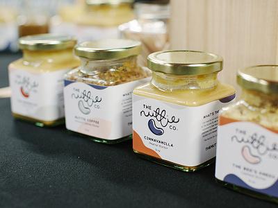 The Nuttie Co Packaging nuts peanut butter wrap packaging label design label packaging label jars