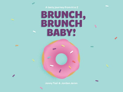 Brunch, Brunch Baby! Children's Book Design & Illustration