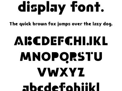 Bak fonts display moretype