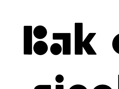 Bak fonts display moretype