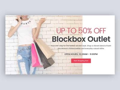 Ecommerce Feature Block design ui shopping ecommerce