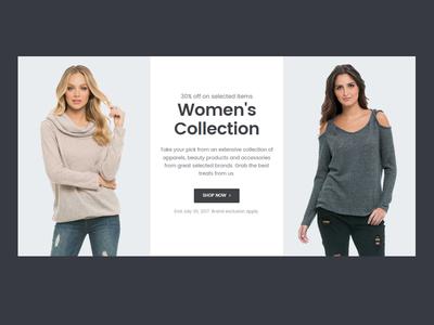 E-commerce Block minimal design ui shop ecommerce shopping