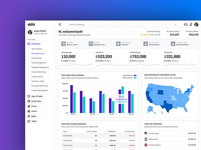 Dashboard Design Concept analytics dashboard analytics chart analytics chart bootstrap4 template ui admin dashboard