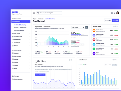Responsive Dashboard Template analytics chart responsive dashboard admin bootstrap bootstrap4