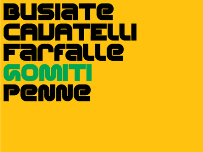 Alphabet 9 (Gomiti) type typography geometric type design font